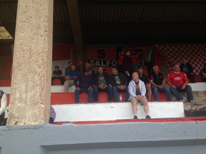 Salford fans