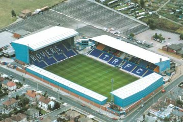 As I managed to somehow delete all the pre-match images of Prenton Park from my phone, he's a stock image from a great height.