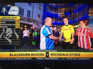 """""""Hello, I'm Alan Blackburn. I know, you couldn't make it up, could you?"""""""