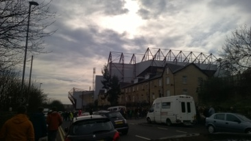 Valley Parade/Coral Windows Stadium. The place to be on Saturday afternoon (unless you're the BBC)