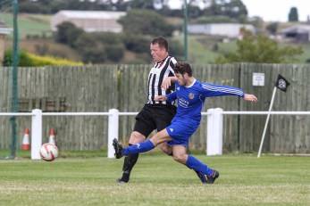 Moxam adds a second in the 73rd minute (image courtesy of Andy Nunn)