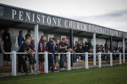 A healthy crowd at The Memorial Ground (image courtesy of Andy Nunn)