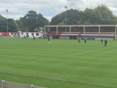 Matchday at Moor Lane.