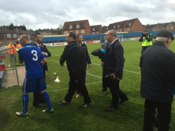 Chairman Richard Kane shows his appreciation for each of his players